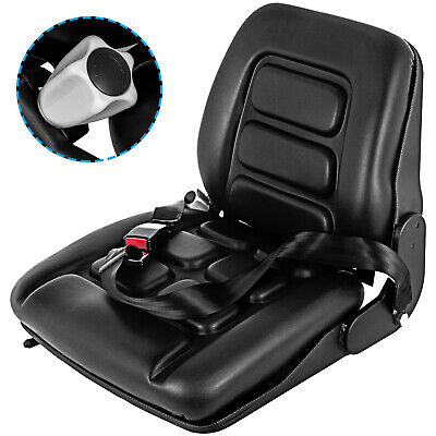 AU189.97 • Buy Suspension Tractor For Seat Forklift Excavator Truck Universal Backrest Chair