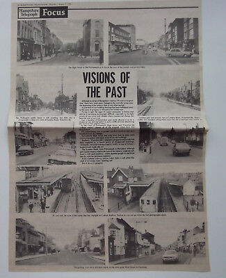 £11 • Buy Visions Of The Past Portsmouth Waterlooville Cosham Station Fareham 1976 Article