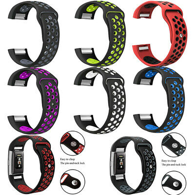 AU15.99 • Buy Replacement Sports Silicone Watch Band Strap Bracelet For Fitbit Charge 2 Watch
