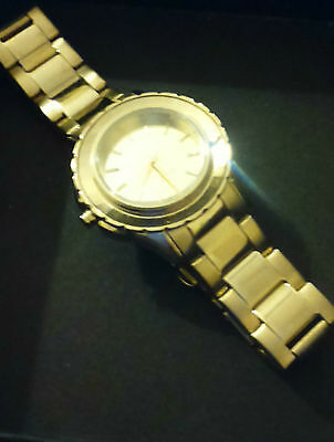 DKNY NY2116 Ladies Gold-Tone Stainless Steel Bracelet 32MM Watch • 24.99£