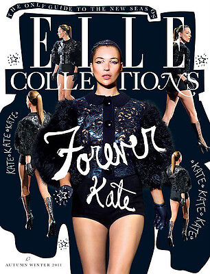 £59.99 • Buy British Elle Collections Magazine AUTUMN/WINTER 2011,KATE MOSS,Corinne Day NEW