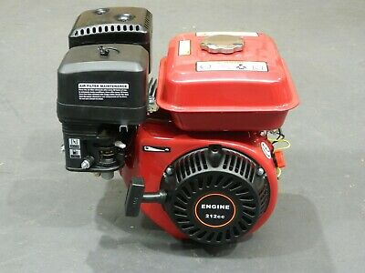 AU189 • Buy Petrol Stationary Engine 7.5HP 212CC OHV 4 Stroke Horizontal Shaft Recoil Motor