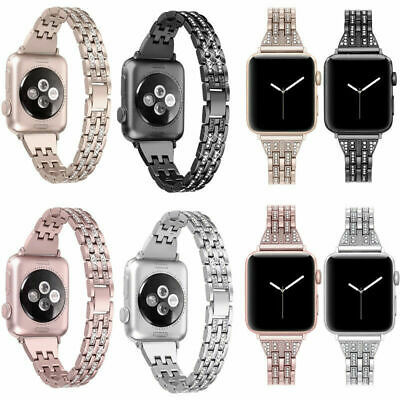 AU19.99 • Buy Stainless Steel Bracelet IWatch Band Strap For Apple Watch Series5 4 3 2 38/42mm