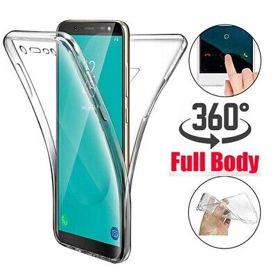 AU7.95 • Buy 360°Shockproof Full Soft Clear Silicone Case Cover For Galaxy S9 S10 Plus S8 S20