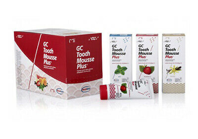 AU141.90 • Buy GC Tooth Mousse Plus 40g Tubes - Mint, Strawberry & Vanilla Flavours