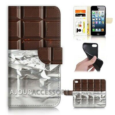 AU12.99 • Buy ( For Huawei Y5 2018 ) Wallet Flip Case Cover AJ40145 Chocolate