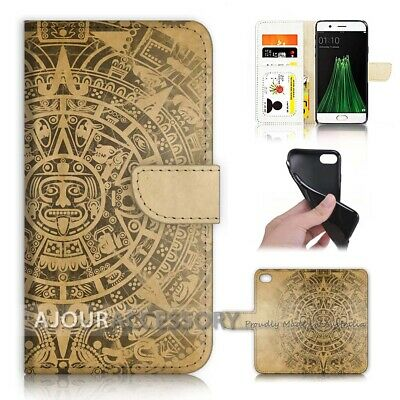 AU12.99 • Buy ( For Oppo A57 ) Wallet Flip Case Cover AJ40195 Ancient Indian