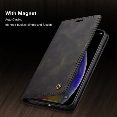 $ CDN7.28 • Buy For OnePlus Nord 8T 8 7 Pro Caseme Magnetic Flip Wallet Leather Case Cover