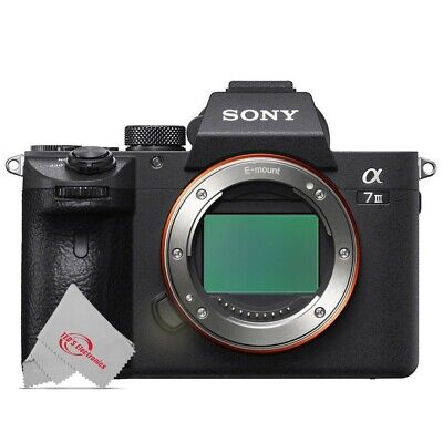 $ CDN2302.28 • Buy Sony Alpha A7 III Full Frame Mirrorless Digital Camera (Body Only)