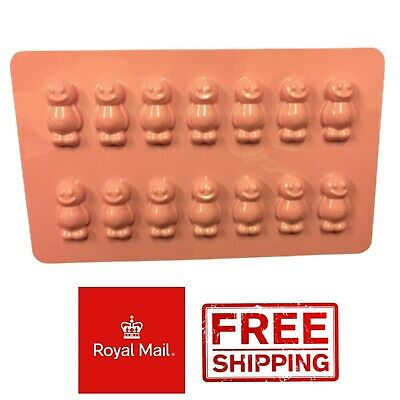 £2.79 • Buy 14 Jelly Babies Mould Chocolate Sweets Jelly Mold Cake Baby Jellies Marshmallow