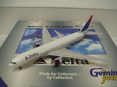 $59.99 • Buy Gemini Jets 400 Delta Air Lines DL B777-200ER  Deltaflot Color  1:400