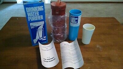 $14.99 • Buy Vintage PCP Portable Drinking Water Purifier/Filter Camping Survival Hiking
