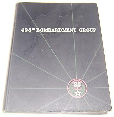 $498 • Buy 498th Bombardment Group Military Air Force World War II Yearbook WWII
