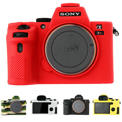 $ CDN36.88 • Buy Soft Silicone Rubber Camera Protective Body Case Skin For Sony A7II A7SII A7R II