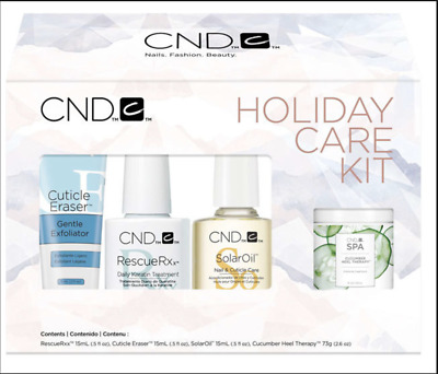 £49.95 • Buy CND Care Kit - Holiday - Perfect Nail And Skin Treatment Gift.