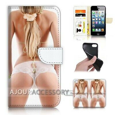AU12.99 • Buy ( For IPhone 6 / 6S ) Wallet Flip Case Cover AJ40789 Sexy Girl