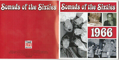 Time Life - Sounds Of The Sixties - 1966 (2001) TL SSC/02 • 14.99£