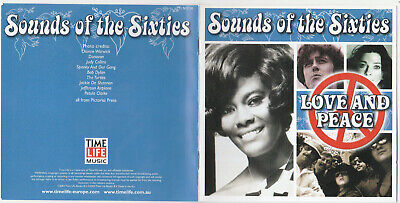 Time Life - Sounds Of The Sixties - Love And Peace (2003) TL SSC/20 • 19.99£