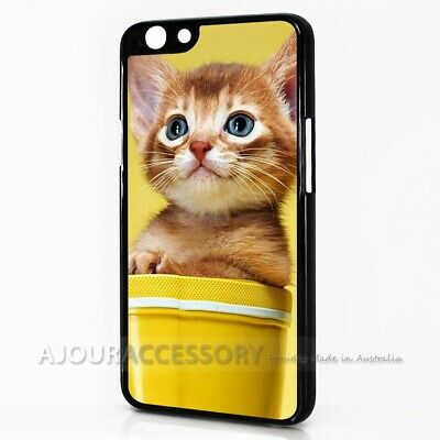 AU9.99 • Buy ( For Oppo A57 ) Back Case Cover AJ11297 Cute Pussy Cat