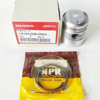 $28.50 • Buy Honda C65 C65M S65 Piston + Ring Set Oversize 0.75 (Diameter : 44.75mm ) New
