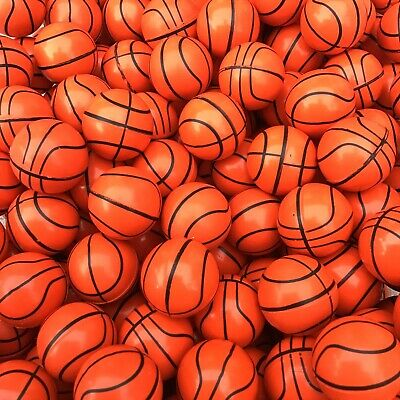 $9.99 • Buy 12 Basketball Rubber Bouncy Super Balls, Fun Gift, Party Favors ~1in (27mm)