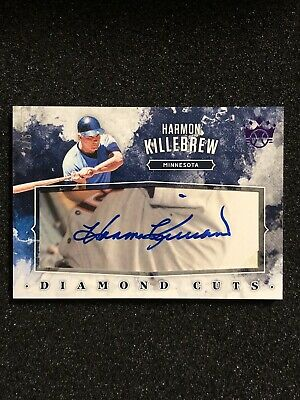 $ CDN132.55 • Buy 2019 Diamond Kings Baseball Harmon Killebrew Twins FOTL Diamond Cuts Purple /5