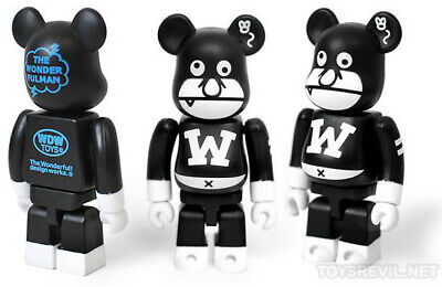 $49.99 • Buy The Wonderful Man Bearbrick 100% WDW Limited Rare Soldout The Wonder Fulman Dope
