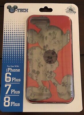 AU36.67 • Buy DISNEY PARKS D-TECH MICKEY THRU THE YEARS IPHONE CASE IPHONE 6s/7/8PLUS NEW