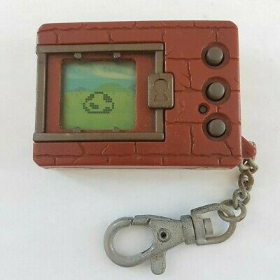 AU99.97 • Buy 1997 Bandai Brown Digital Monster Digimon Battle Maroon Tamagotchi Virtual Pet