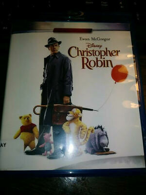 $9 • Buy Christopher Robin (Blu-ray Disc ONLY, 2018) VERY GOOD CONDITION