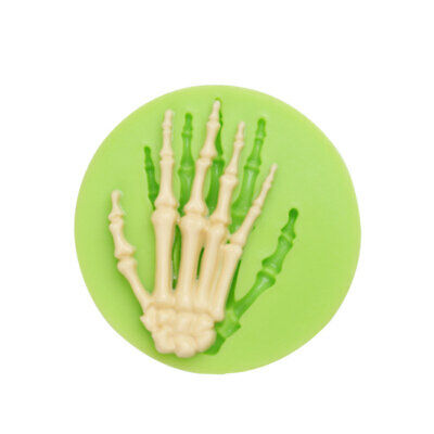 £3.25 • Buy Halloween 3D Skeleton Hand Cake Decorating Icing Chocolate Mould