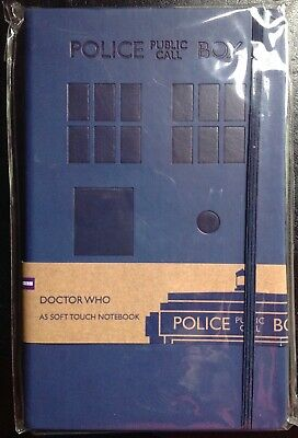 Doctor Who, Soft Touch A5 Notebook, Brand New & Sealed • 8.99£