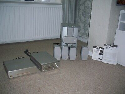 Sony Surround Sound System 5.1 Speakers Sub Woofer /power Amplifier And Receiver • 120£