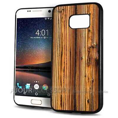 AU9.99 • Buy ( For Samsung S8 Plus / S8+ ) Back Case Cover AJ11206 Wood Timber Pattern