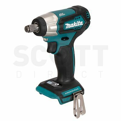 Makita DTW181Z 18V Li-ion Cordless Brushless Impact Wrench 1/2  Body Only • 119.95£
