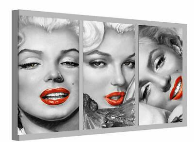 Canvas Print Wall Art Of Marilyn Monroe Film Star Pop Art Painting Picture • 22.99£