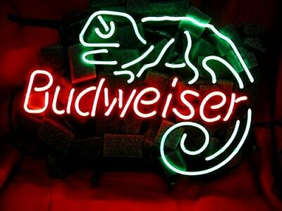 $ CDN294.92 • Buy ME153 - BUDWEISER LIZ Beer Beverage Neon Light Sign **FREE SHIPPING WORLDWIDE**