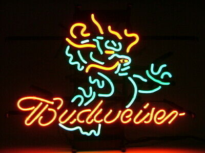 $ CDN294.92 • Buy ME165 - BUDWEISER DRAGON Beer Neon Light Sign **FREE SHIPPING WORLDWIDE**