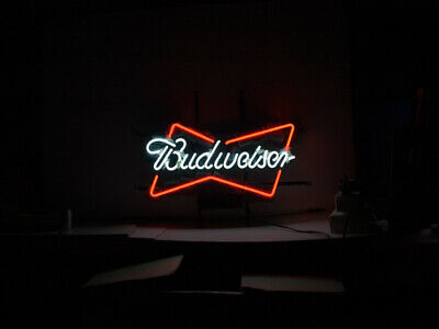 $ CDN290.66 • Buy ME239 - BUDWEISER BOW Beer Neon Light Sign **FREE SHIPPING WORLDWIDE**