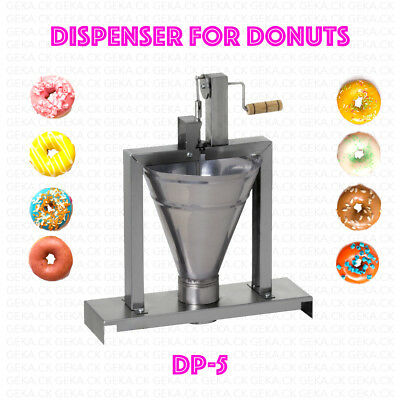 £185.89 • Buy Dispenser Donut Machine Professional Small Business Compact Fryer Maker 80 Pc/h