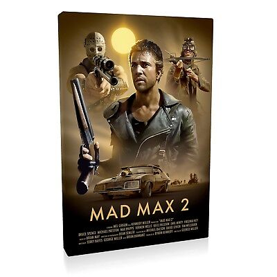 Mad Max 2 Framed Canvas Print  • 29.97£
