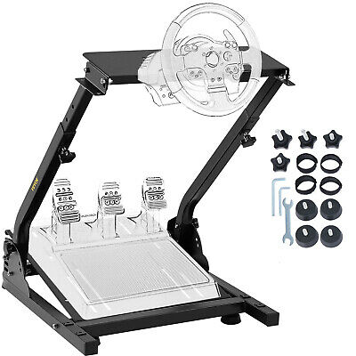 AU99.96 • Buy Pro Racing Simulator Steering Wheel Stand For T300RS 458 T80 G27 G29 PS4 G920