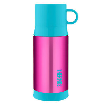 AU28.95 • Buy THERMOS Funtainer 355ml Vacuum Insulated S/S Warm Beverage Drink Bottle Pink!
