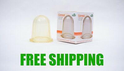 NEW! Large Vacuum Silicone Cup Anti Cellulite Cupping Massage Medical Full Body • 7.51£