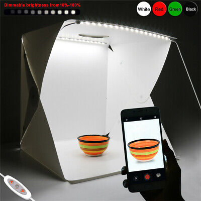 AU39.92 • Buy 16X16  Dimmable 70 LED Light Box Photo Studio Photography Shooting Tent Open Top
