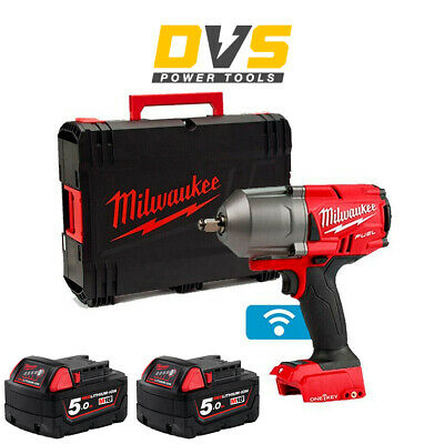 £372.95 • Buy Milwaukee M18ONEFHIWF12-0 18v 1/2in FUEL ONE-KEY Impact Wrench Friction Ring 5Ah