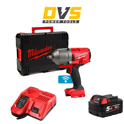 £354.95 • Buy Milwaukee M18ONEFHIWF12-0 18v 1/2in FUEL ONE-KEY Impact Wrench Friction Ring 5Ah