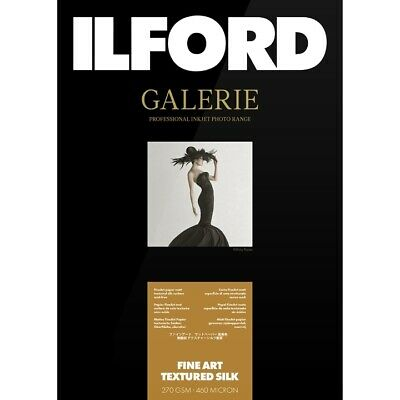 Ilford Galerie Fine Art Textured Silk 270 Gsm A4 (21 Cm X 29.7 Cm) 25 Sheets • 21.07£