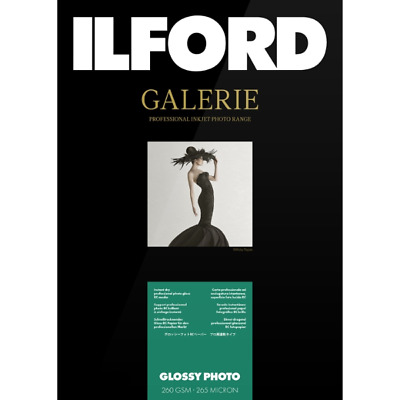 Ilford Galerie Glossy Photo 260gsm A4 (21 Cm X 29.7 Cm) 25 Sheets • 13.31£