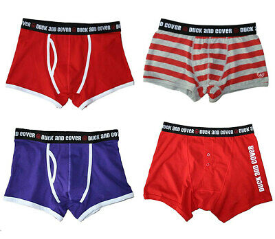 £4.95 • Buy DUCK AND COVER Boxer Trunk Underwear NEW & IN STOCK In Presentation Pack